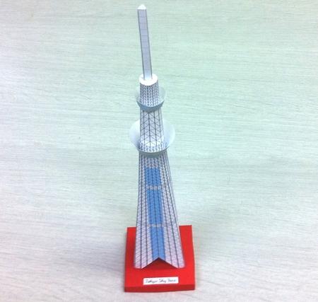 以前作った、東京タワーと2 ...